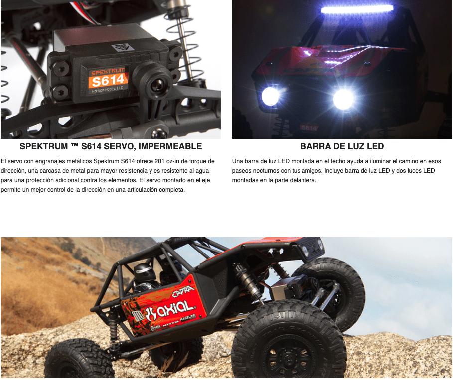 mejores ofertas en españa coche rc Axial Capra 1.9