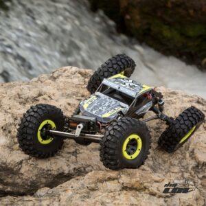 1/18 Temper 4WD Gen 2 RTR Cepillado,