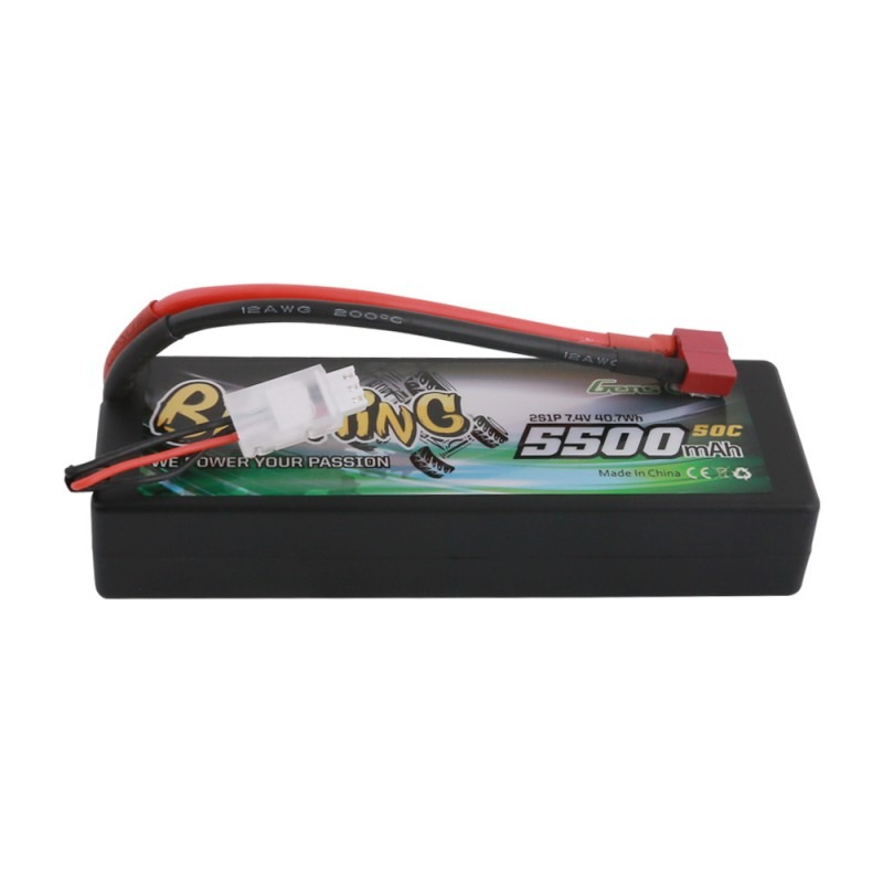 Gens ace Bashing Series 5500mAh 7.4V 2S1P 50C Hardcase 24 # con conector-T