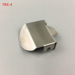 KYX 1/10 Protector del Eje en Acero Inoxidable para Traxxas TRX-4