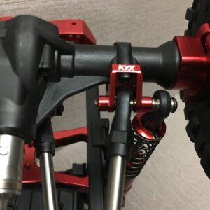 KYX Anlace de ejes traseros 1/10 Crawler para Traxxas TRX-4