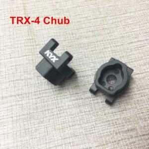 KYX Buje trasero de aluminio mecanizado CNC para Traxxas TRX-4
