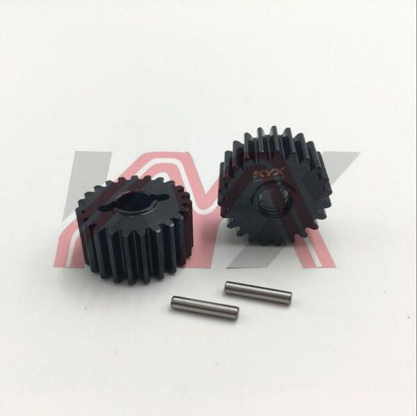KYX Juego de Engranajes de Salida de Acero de Alto Rango (24T) para TRX-4