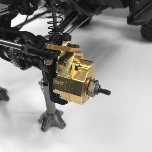 KYX Nudillo de Dirección en Latón para TRX-4