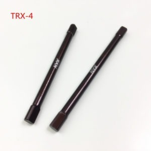 KYX S2 Tool Steel CVD Eje del eje Trasero para Traxxas TRX-4