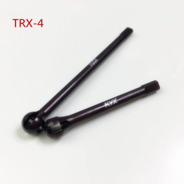 KYX S2 Tool Steel CVD Eje del eje delantero para Traxxas TRX-4