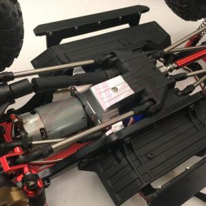KYX Soporte de Motor y Caja de Cambios en Aluminio para Traxxas TRX-4