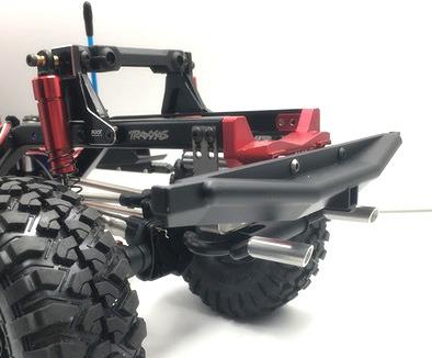KYX Tubo de Escape Dual Realista 1/10 RC Crawler Escala para TRX-4 / SCX10 II