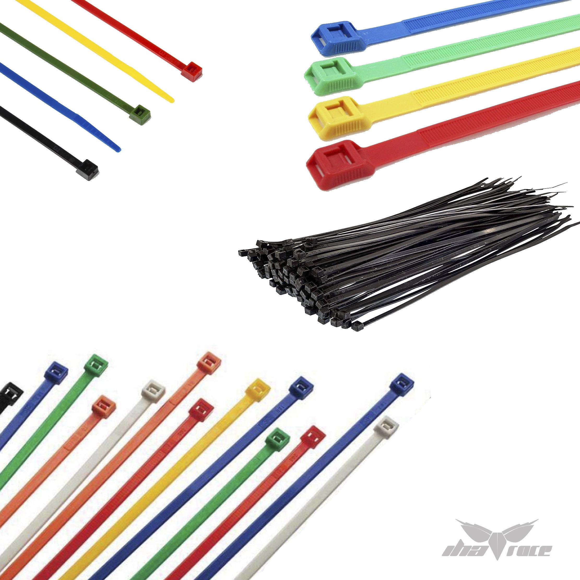 Bridas Nylon 10cm bolsas 100 unidades (Varios colores)