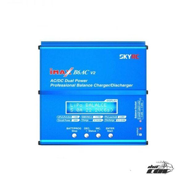 "Cargador / Balanceador iMAX B6 60W 1-6S Modelo Original de SKYRC ""wifi opcional"""