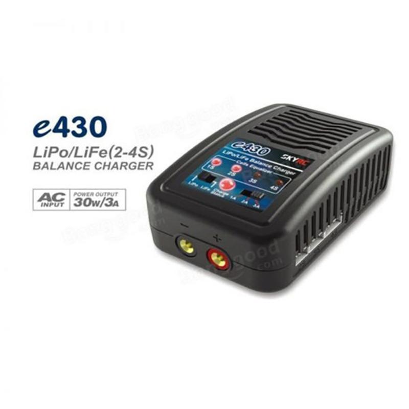 Cargador / Balanceador SKYRC e430 para baterías Lipo 30W