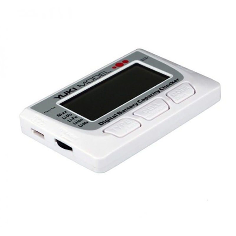 Comprobador digital de baterias FPV Yukimodel