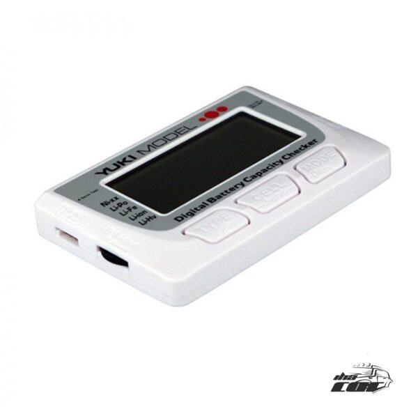 Comprobador digital de baterias FPV Yukimodell