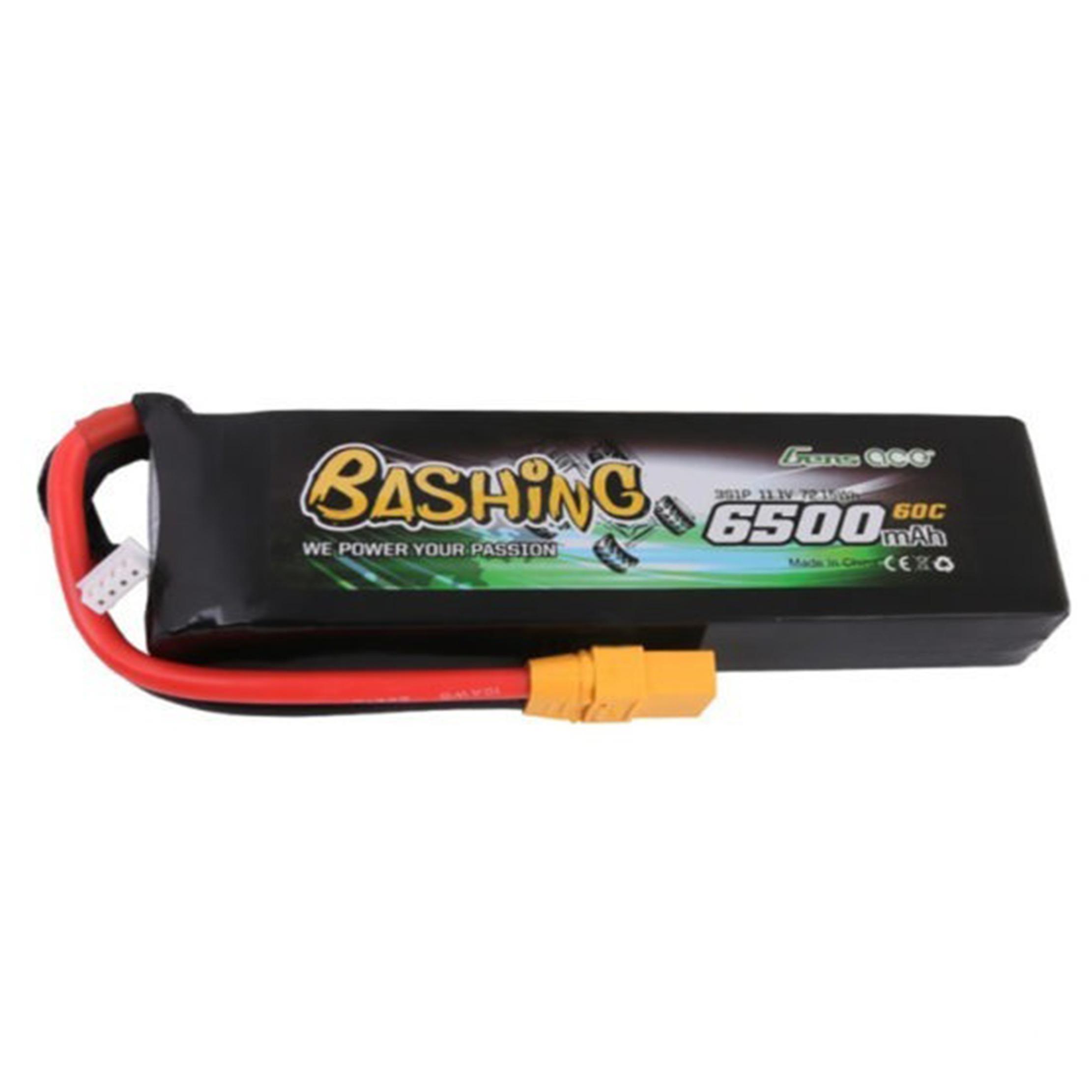 Batería Gens Lipo ace 6500mAh 11.1V 60C 3S1P XT90-Bashing Series