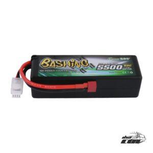 Gens as Bashing Series 5500mAh 11.1V 50C 3S1P HardCase 15 # coche Lipo con T-plug