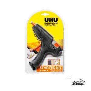 Kit de inicio de pistola de pegamento UHU +6 varillas Ø11 mm