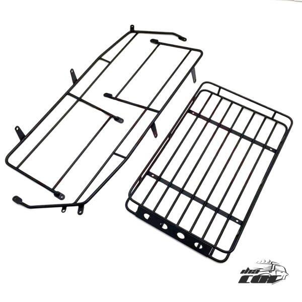 KYX 1/10 Portaequipajes con Jaula de Metal para Traxxas TRX-4