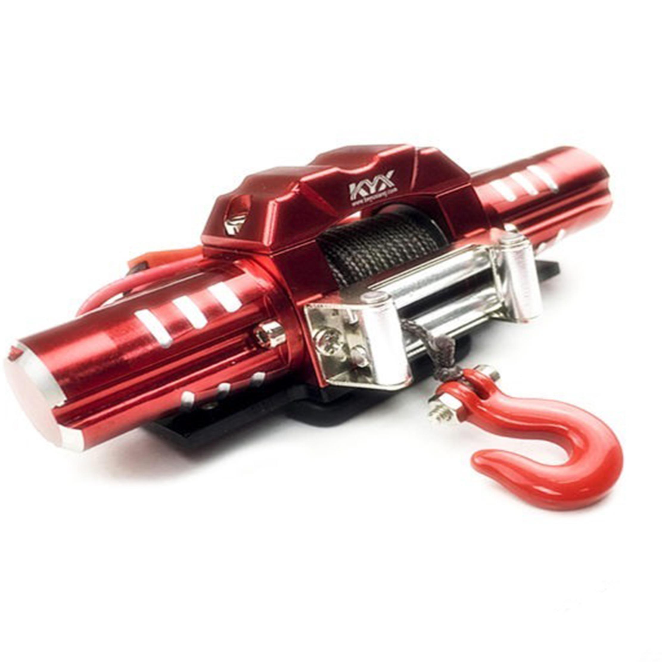 KYX 1/10 Winch Eléctrico Doble motor