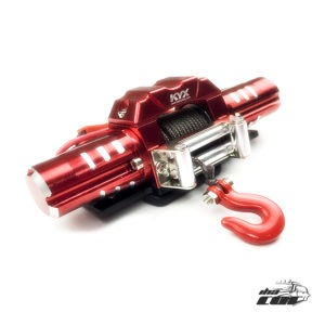 KYX 1/10 Winch Eléctrico Doble motor