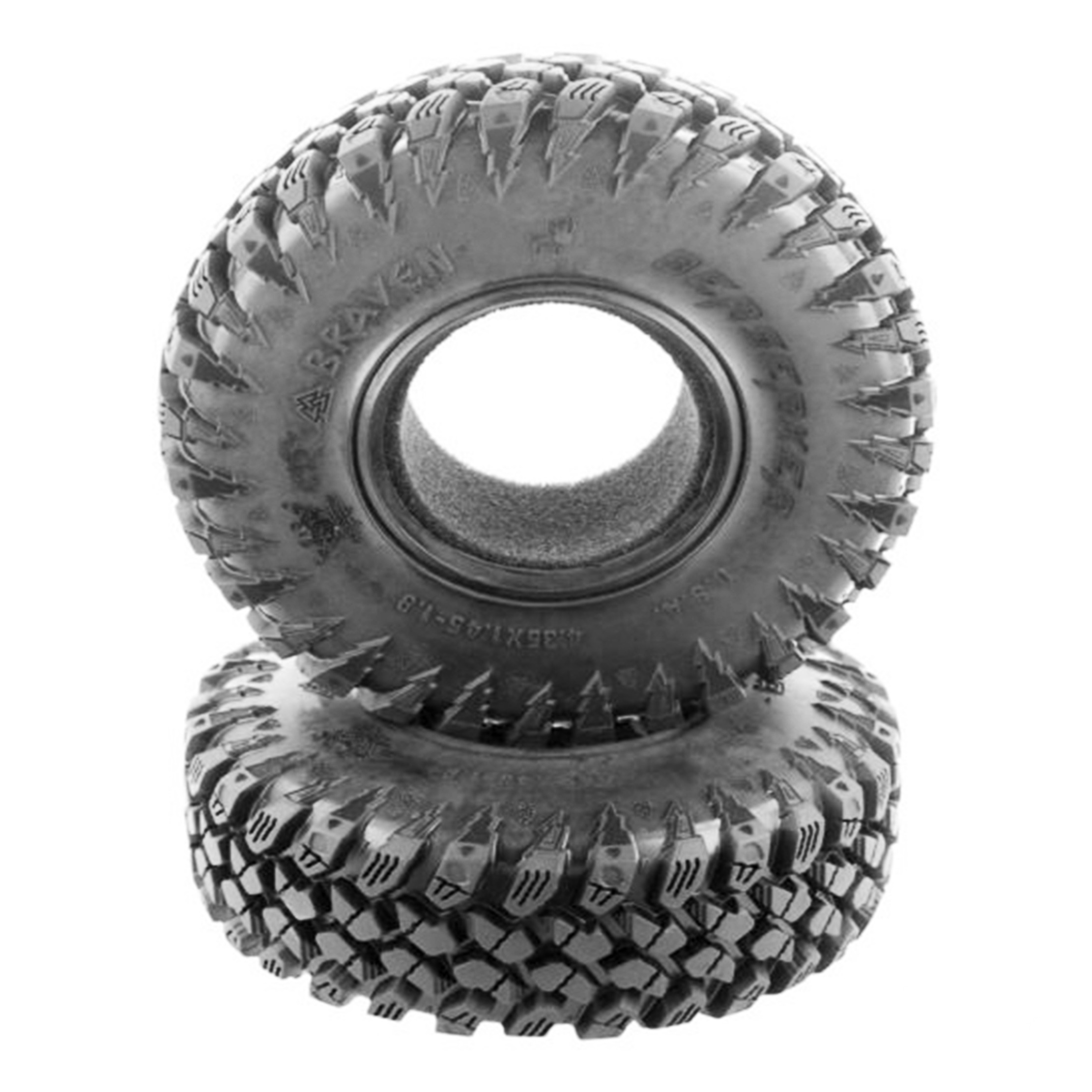Neumáticos PitBull Braven Berserker 1.9 Scale Tire Alien Compound con Foam (2 piezas)