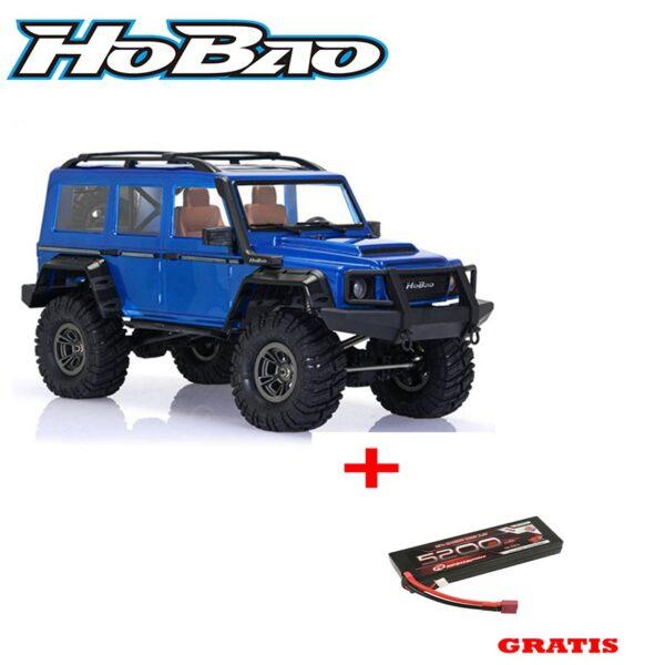 Hobao DC1 Trail Crawler RTR 1/10 KIT pintado de azul