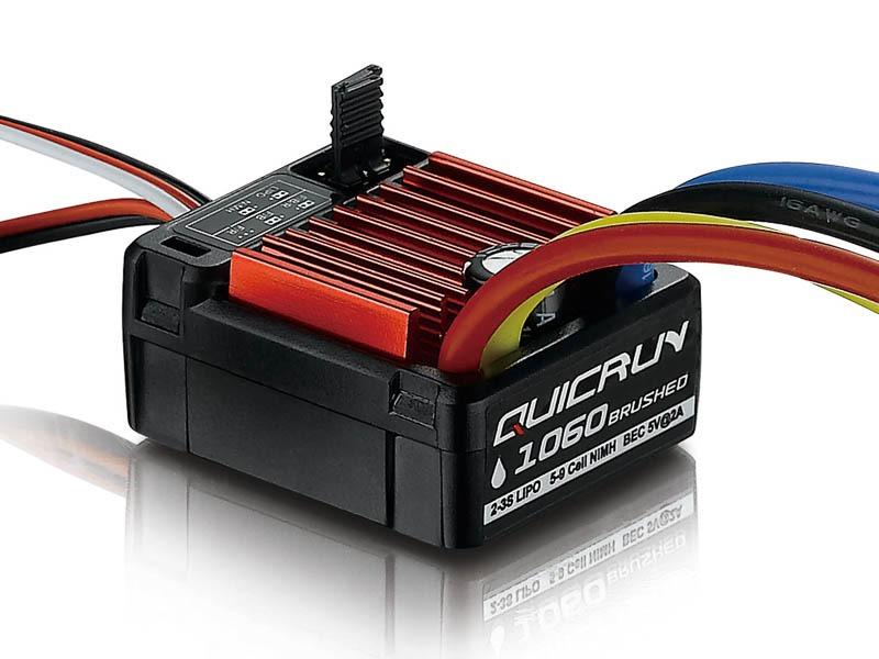 Hobbywing QuicRun 1060 Escobillas ESC 60A para 1:10
