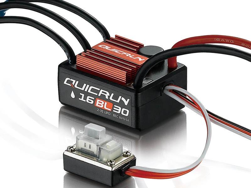 Hobbywing QuicRun WP16BL30 ESC sin escobillas 30A para 1:16