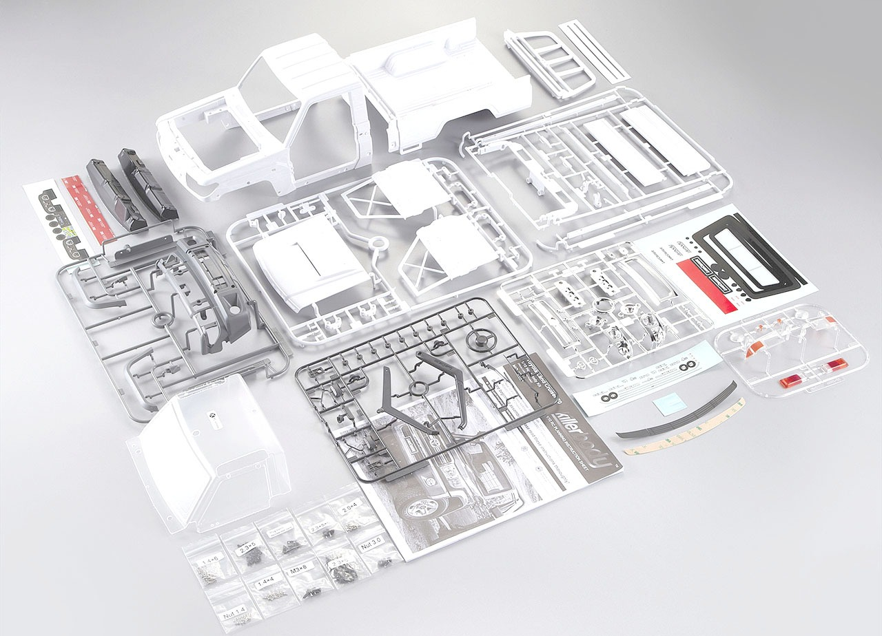 Kit de plástico Killerbody Toyota Land Cruiser 70 LC70