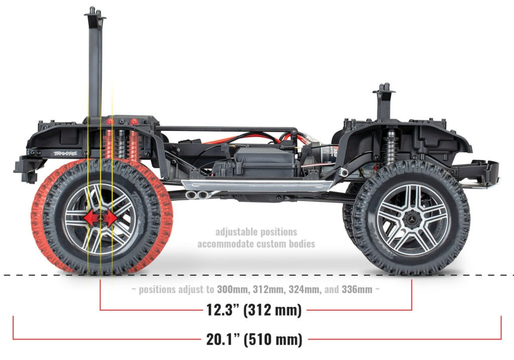 Traxxas TRX-4 Mercedes G500 4x4