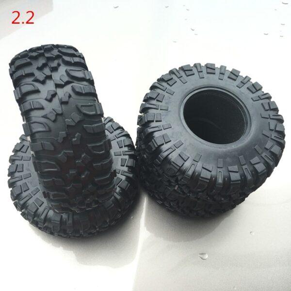"""Neumáticos KYX 2.2"""" Crawler con Esponja 132mm (4 Piezas)"""