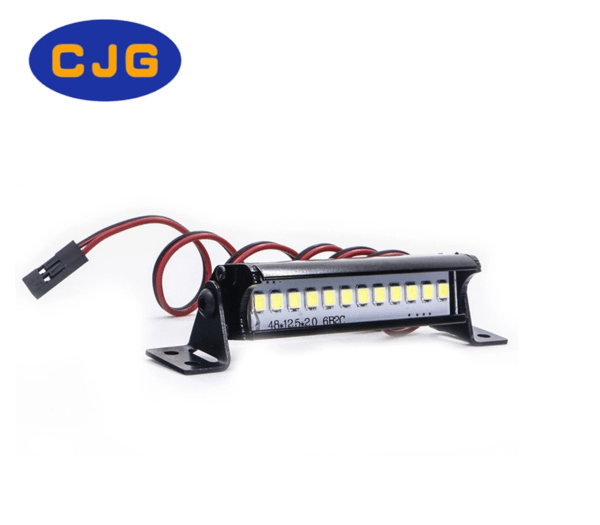 Barra 12 Led 1/10 para RC Crawler (5V-7.4V)