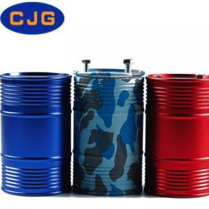 Decoración CJG Tanque de Combustible Metálico