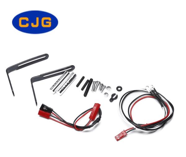 Repuesto CJG 1/10 Parachoques Trasero para Crawler SCX10