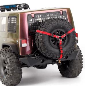 Cinturón anti-deslizante para neumático de repuesto