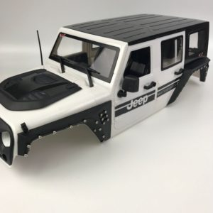 KYX Guardabarros Land Rover Defender SCX10 - SCX10II