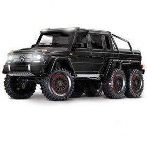 comprar Traxxas-TRX-6-Mercedes-Benz-G-63-AMG-Body-6X6-Electric-Trail-Truck-Negro