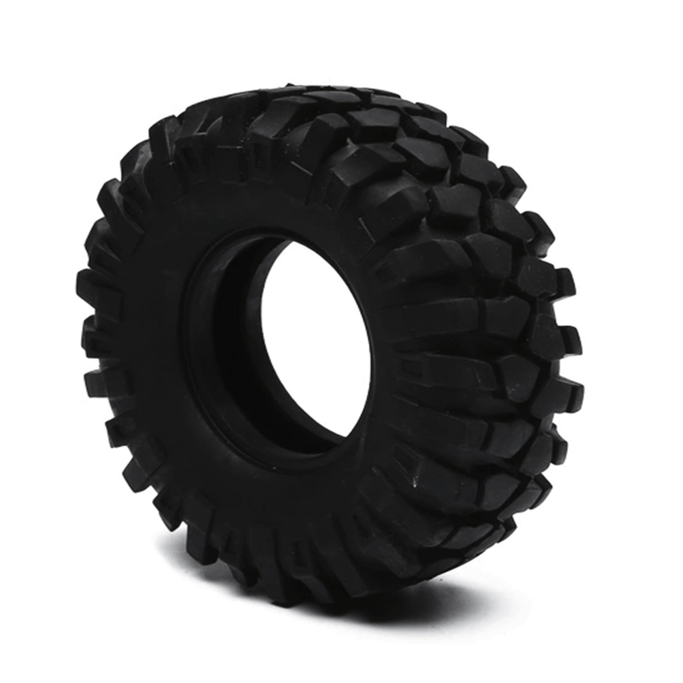 Neumático CJG 1/10 Escala Traxxas Slash Associated Car Rock Crawler (4piezas)