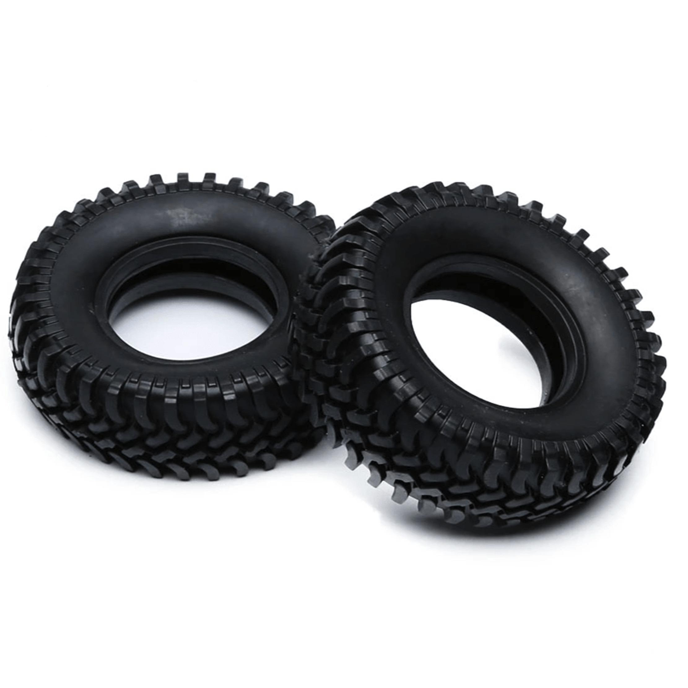 Neumático CJG RC 1/10 Escala   Rock Crawler (4 piezas)