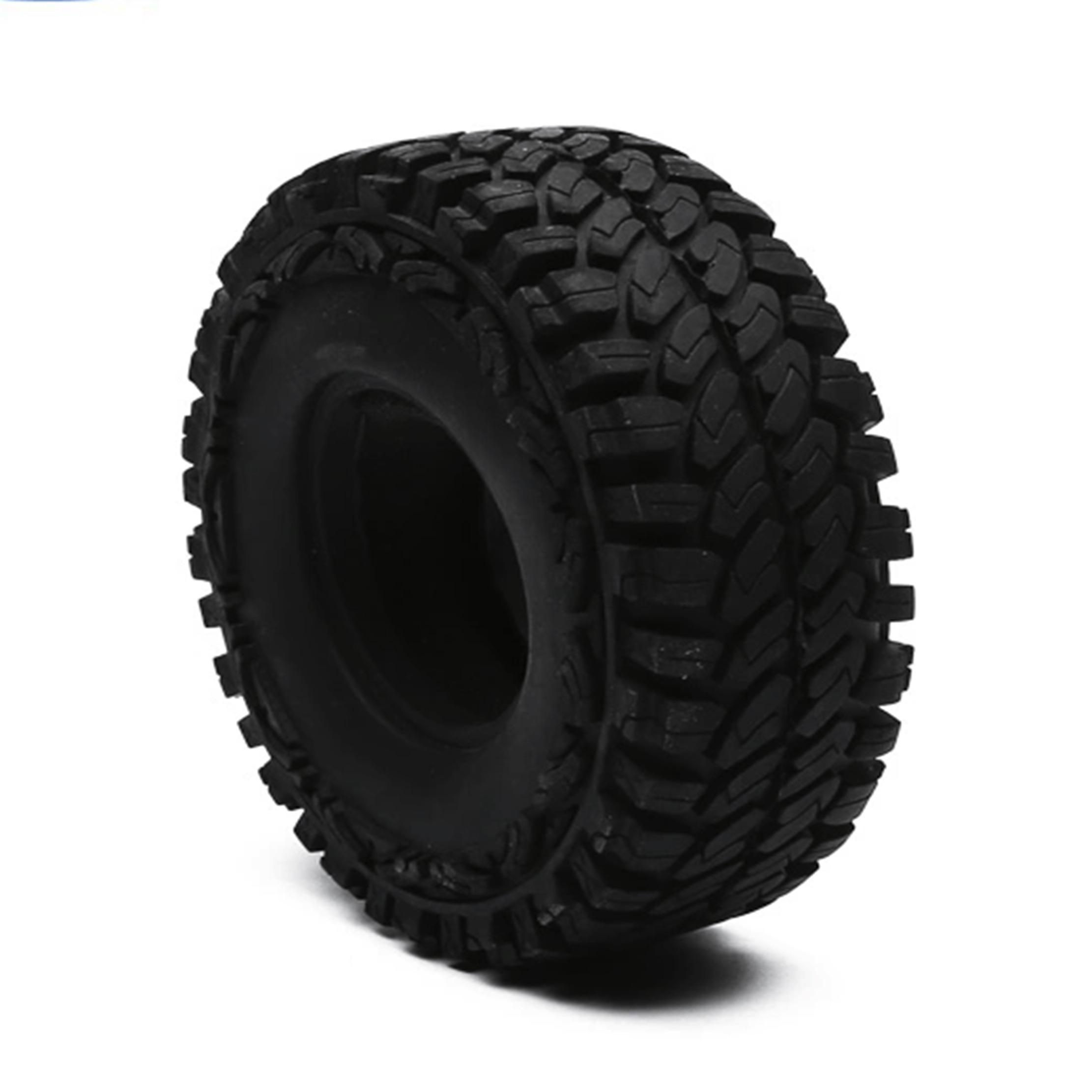 Neumático CJG RC 1/10 Escala Traxxas  Rock Crawler (4 piezas)