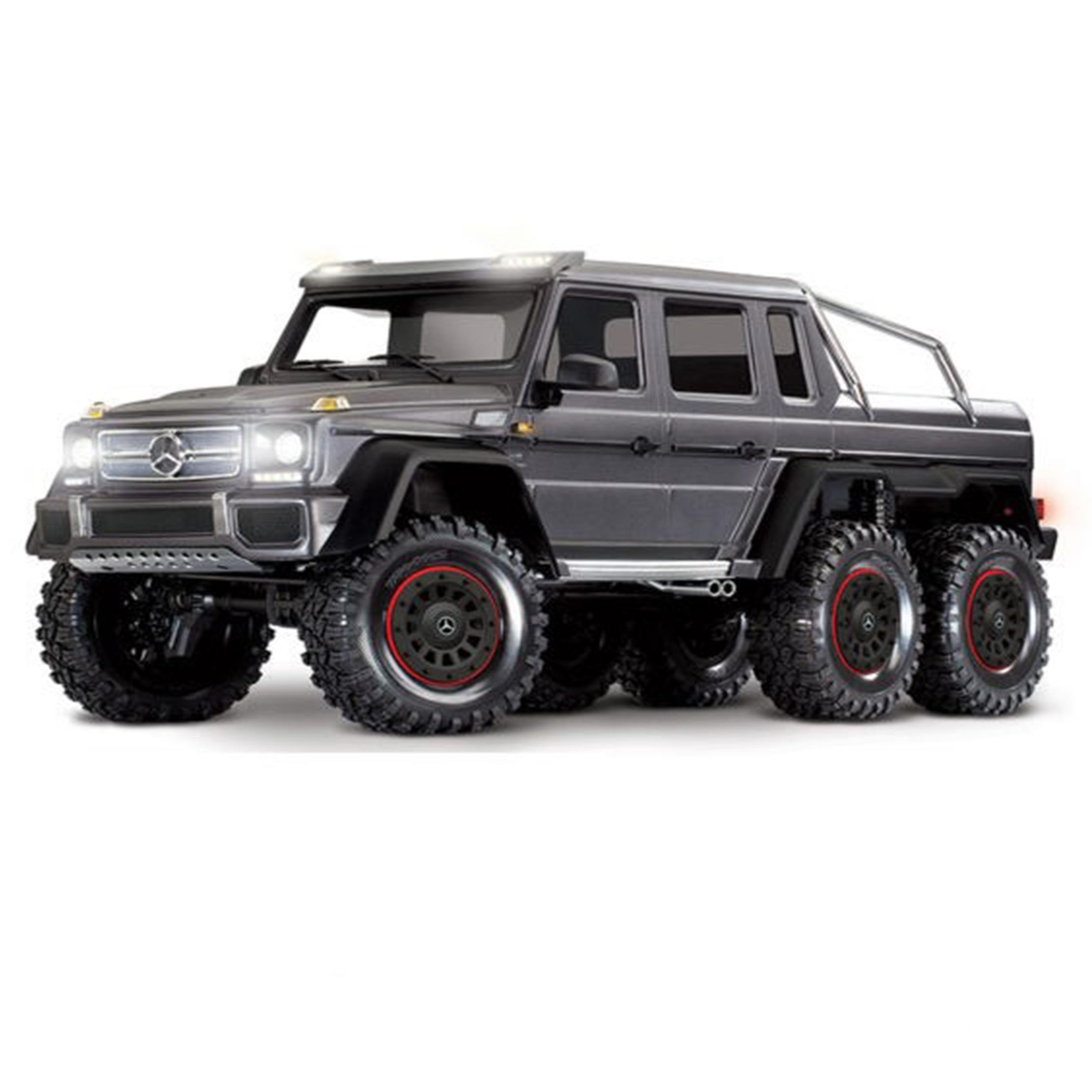 Traxxas TRX-6 Mercedes-Benz G 63 AMG Body 6X6 Electric Trail Truck Plata