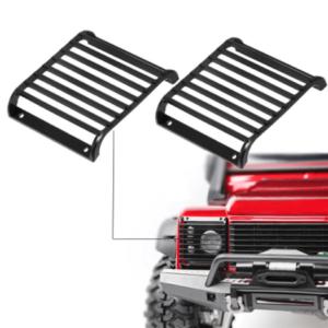 Repuesto CJG Guarda Foco Delantero 1/10 de Metal para RC Crawler (2 piezas)