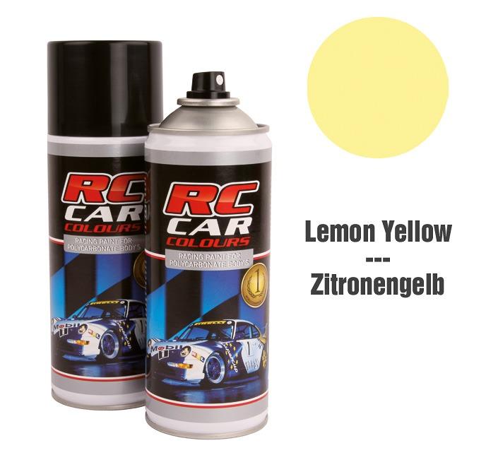 Lexan Spray Amarillo Limón No. 020 150ml