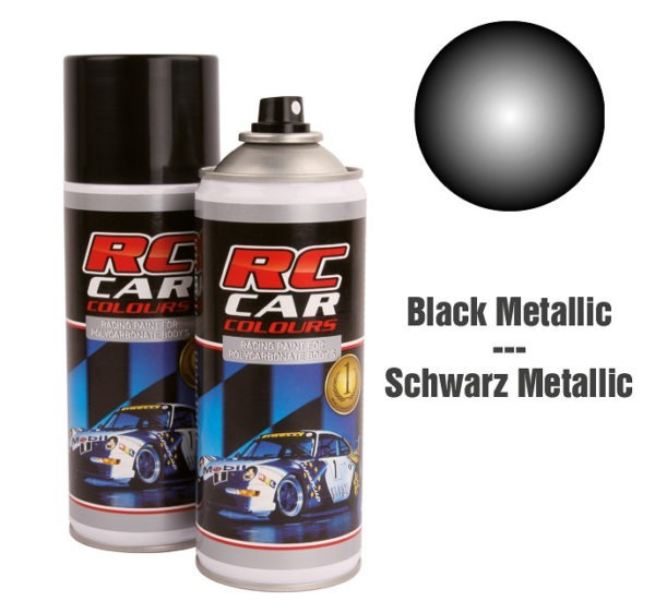Lexan Spray Black Metalic Nr 935 150ml