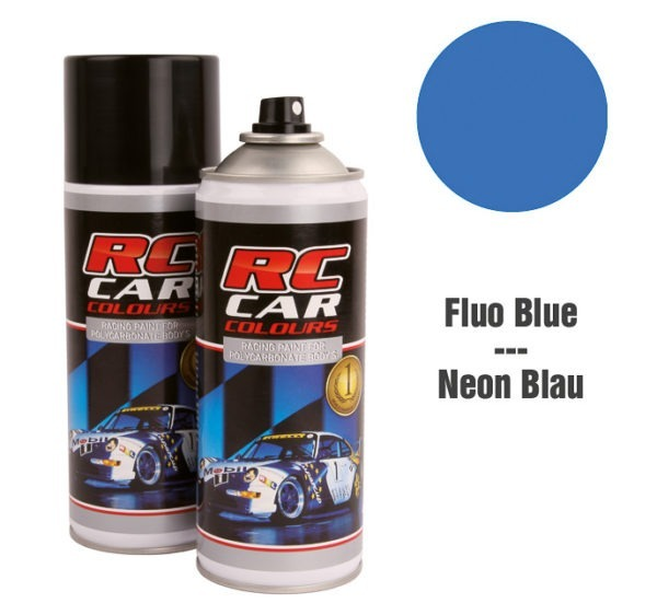 Lexan Spray Fluo Blue No. 1014 150ml