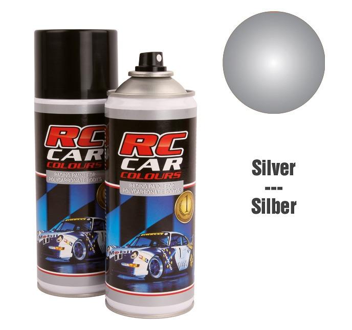 Lexan Spray Metallic Silver No. 933 150ml
