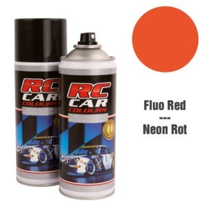 Lexan Spray Rojo Flúor Nr 1005 150ml