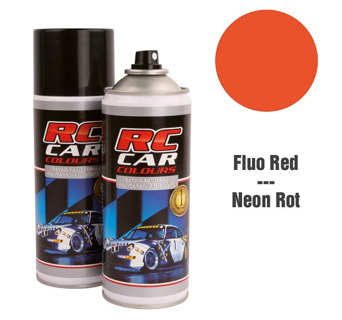 Lexan Spray Rojo Flúor No. 1005 150ml