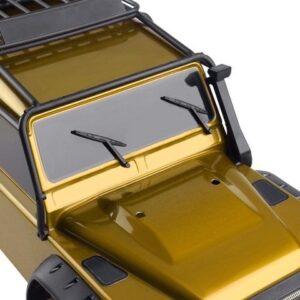 Decoración CJG Limpiaparabrisas 1/10 Negro de Plástico para RC Crawler (2 piezas )