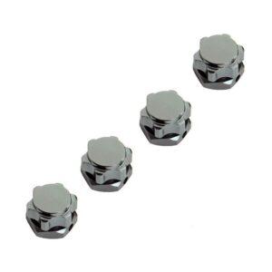 comprar mejor precio Repuesto CJG Pack de 4 Tuercas Hexagonales M17 Anti-polvo de Aluminio rc crawler