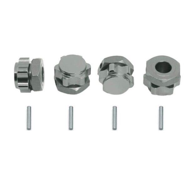 comprar online envio rapido desde españa Repuesto CJG Pack de 4 Tuercas Hexagonales M17 Anti-polvo de Aluminio rc crawler